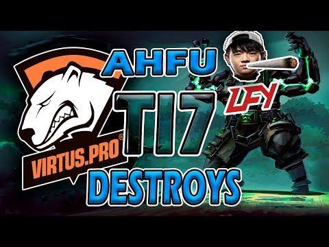 LFY vs VP  AHFU  BEST EARTH SPIRIT  TI7 MAIN EVENT  LONG FIGHT HIGHLIGHTS