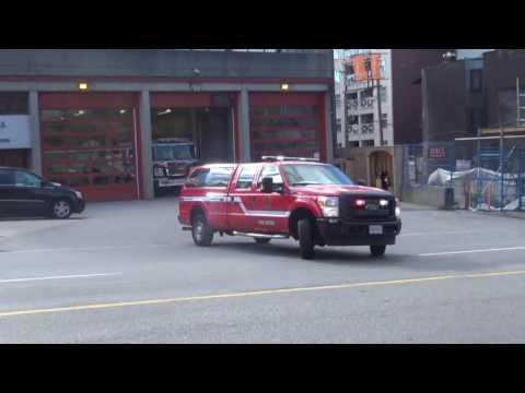 Vancouver Fire Medic 23 Responding