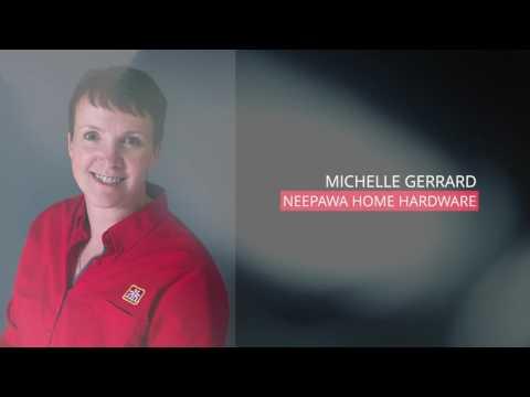 Michelle Gerrard, Neepawa Home Hardware: RBC Canadian Women Entrepreneur Awards 2016