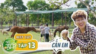Cái kết cười ra nước mắt cho màn thu phục ngựa của Trường Giang, Phát La | Muốn Ăn Phải Lăn Vào Bếp