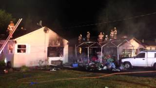 Improper Disposal Of Fireworks Causes Two Homes And A Storage Shed To Catch Fire
