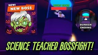 How to get the BUNKER ENDING IN FIELD TRIP Z! (Science Teacher Boss!) [ROBLOX]
