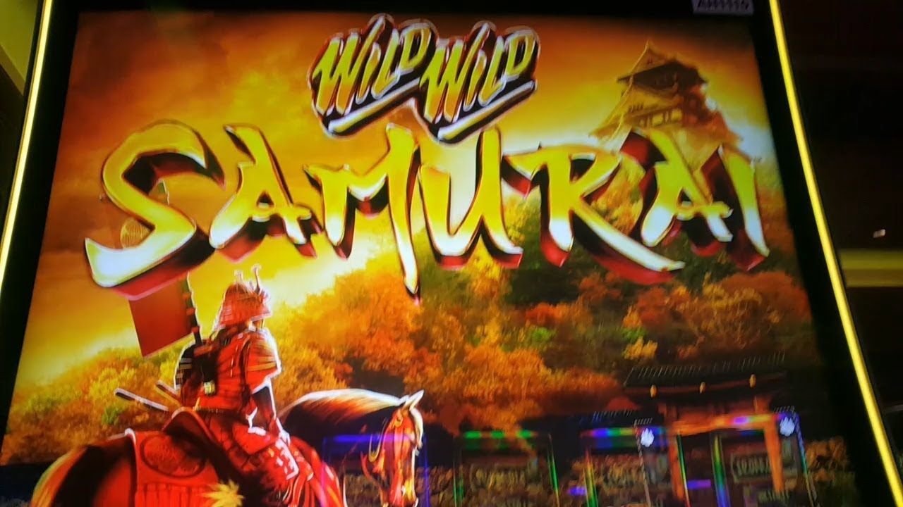 **BETTER THAN JACKPOT ALERT** / WILD WILD SAMURAI Slot