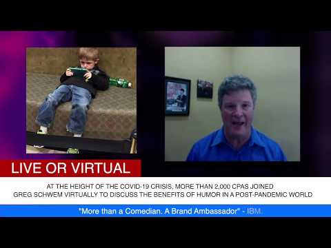 Virtually Live! You Can't Quarantine Laughter w Greg Schwem