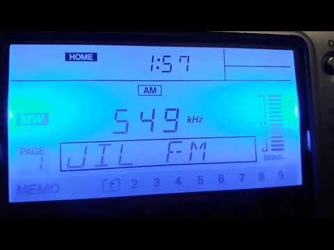 JIL FM 549 KHz Algeria