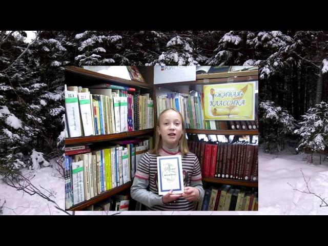 Изображение предпросмотра прочтения – ЕкатеринаПавлова читает произведение «Чародейкою Зимою…» Ф.И.Тютчева