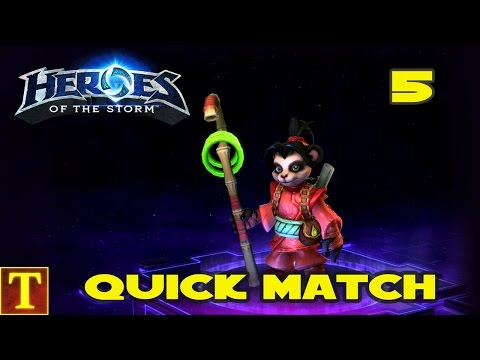 Heroes of the Storm (Gameplay) Quick Match - Lili Stormstout
