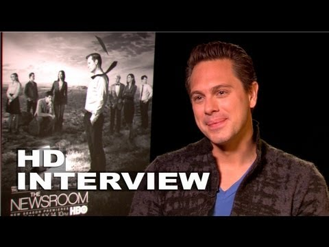 The Newsroom Season 2: Thomas Sadoki Interview