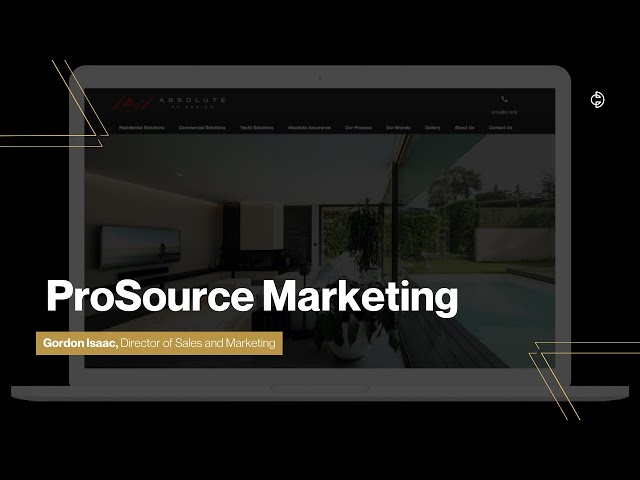 Connected Design Insider Talk: ProSource Marketing