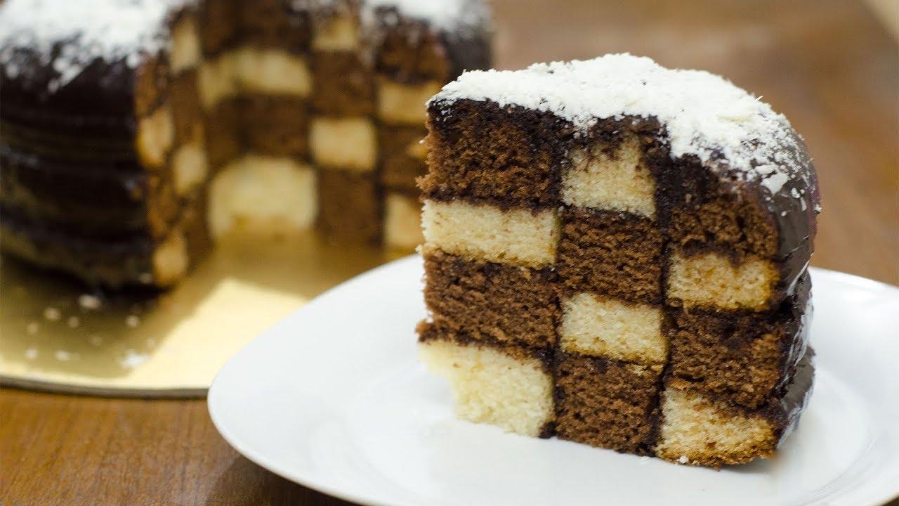How to make a checkerboard cake recipe