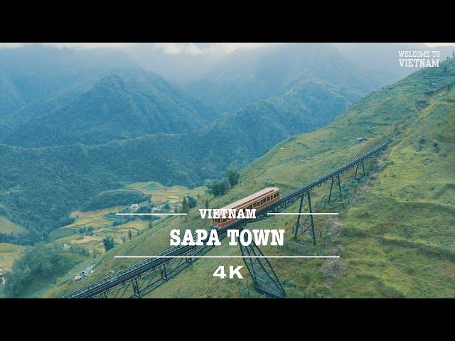 Sapa, Vietnam By Drone (4K)