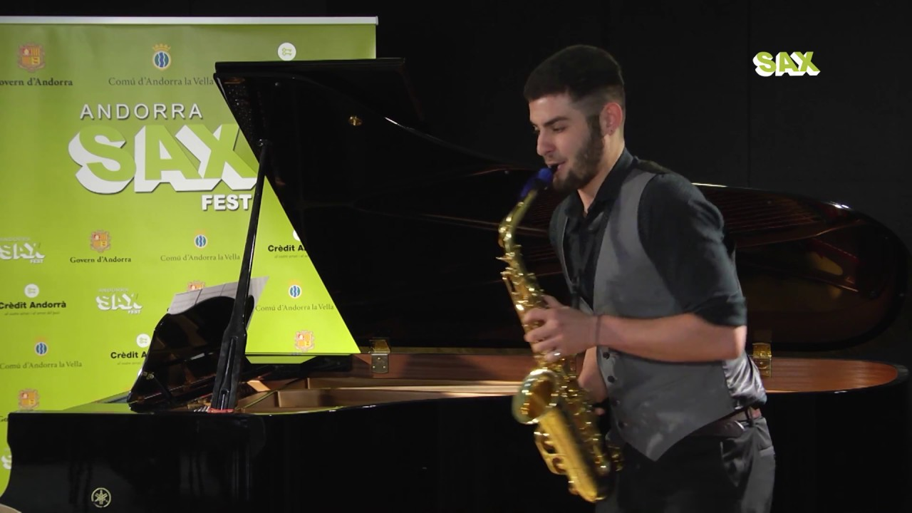 VALENTIN ARRAYET - 1st ROUND - V ANDORRA INTERNATIONAL SAXOPHONE COMPETITION 2018