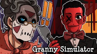 this-new-doll-skin-is-creepy-af-granny-simulator-w-h2o-delirious