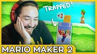 TROLLING MY SUBS • SUPER MARIO MAKER 2 : MULTIPLAYER VERSUS MODE