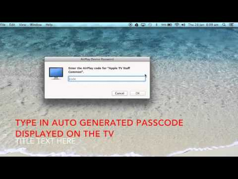 GCC: How To Connect Your Device to an Apple TV