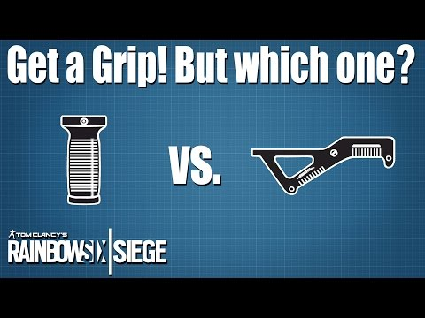 Testing the Vertical and Angled Grips - Rainbow Six | Siege
