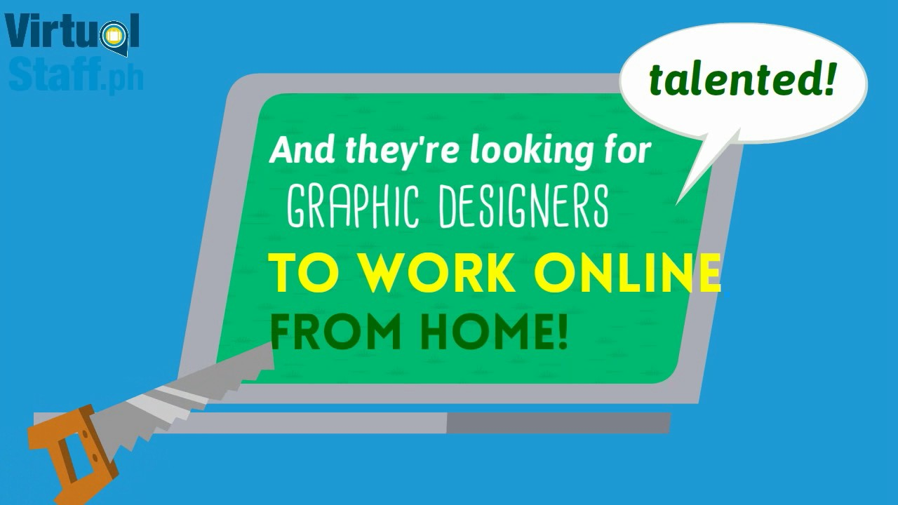 graphic design jobs for filipinos - youtube