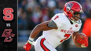 NC State vs. Boston College Football Highlights (2017)