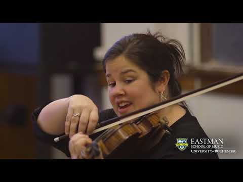 Violin at Eastman: Inspiring Greatness from Studio to Stage