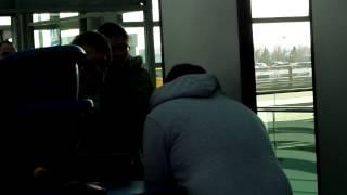 Рафаэль в Шереметьево, Москва 12.04.2014(Провожаем Рафаеля в Шереметьево 12.04.2014г., 2014-04-12T20:19:38.000Z)