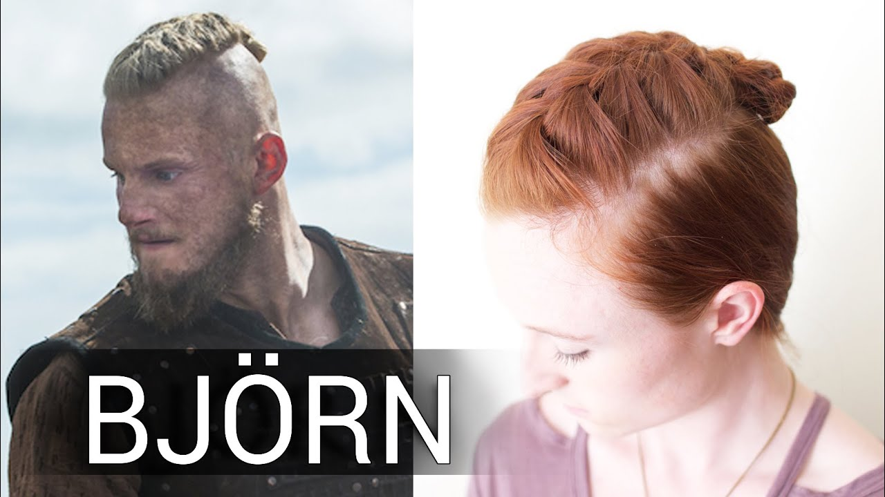 Easy Viking Hair For Men Bjorn S French Braid Undercut Style Youtube