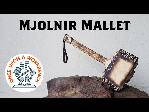 Making a Mjolnir Mallet