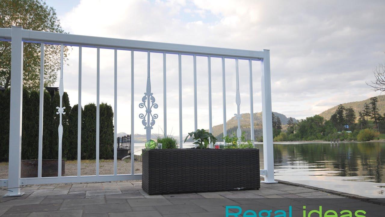 decorative aluminum railing. Decorative Accessories  Regal ideas Aluminum Railing System YouTube