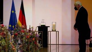 """Steinmeier: """"Die Corona-Pandemie ist eine menschliche Tragödie"""""""