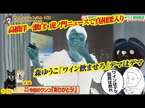 【徹底解説】虎ノ門ニュースで「高橋洋一激白!」。森ゆうこ「ワイン飲ませろはデマ」はデマ|みやわきチャンネル(仮)#611Restart470