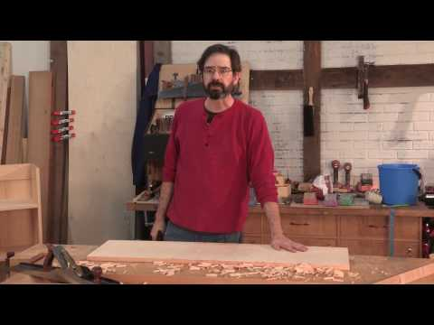Stock Prep by Hand – Christopher Schwarz