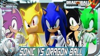 Sonic (SSJ,Black,Red,Pink,Green) MOD WINNER CONTEST #2 VS Dragon Ball (Goku,Vegeta,Buu,Broly)