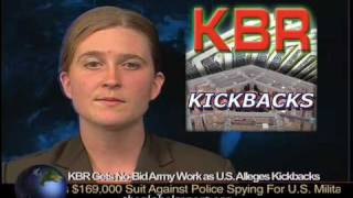 KBR Gets No-Bid Army Work, as U.S. Alleges Kickbacks