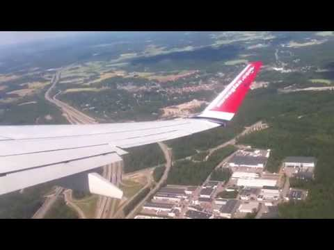 Norwegian B738 Helsinki to Barcelona