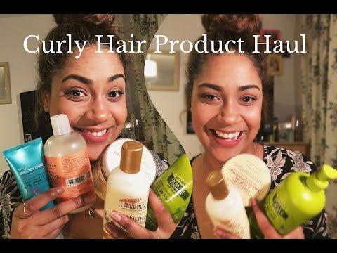 Curly Hair Product Haul 2017 | UK |