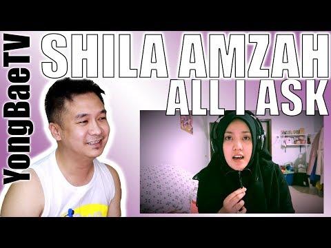 ADELE - All I Ask Cover - Shila Amzah | Reaction | YongBaeTV