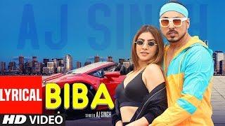Biba (Lyrical Song) AJ Singh | New Punjabi Songs | Showkidd, Diljan Team DG | Latest Punjabi Songs