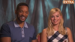 Watch Margot Robbie Beg Will Smith to Join 'Independence Day 2'!