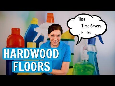 Hardwood Floor Secrets - Light Cleaning vs. Heavy Duty Cleaning