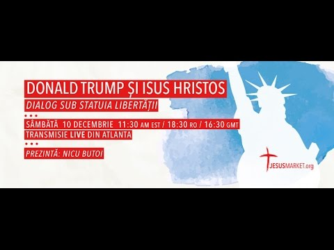 15. Donald Trump si Isus Hristos  - Dialog sub Statuia Libertatii