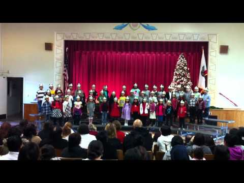 Short Avenue Elementary School 1st Grade Christmas Performance