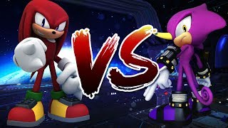 Knuckles VS Espio (pivot sprite battle)