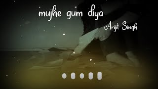 Kabhi Jo Badal Barse by Arijit Singh WhatsApp status   Sad Love WhatsApp status   Abhay Editor