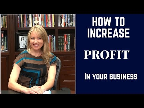 How to increase profit in your business - POWERFULL information