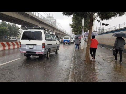 20. June 2020, Today Weather information Addis Ababa in Ethiopia street view, ኢትዮጵያ, 에티오피아 아디스아바바 날씨