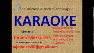 ye mousam rangeen sama karaoke track