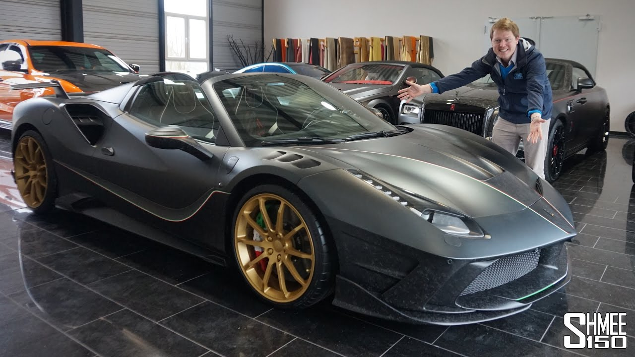 THIS is a Ferrari 488 on STEROIDS! Mansory Siracusa 4XX Spider