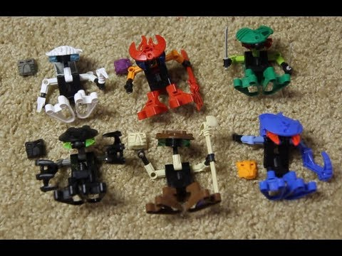 Bionicle Classic Review: The Bohrok Va - YouTube