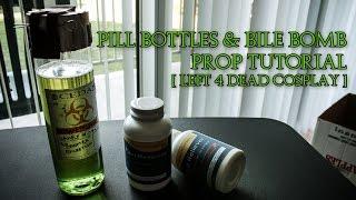 Left 4 Dead Cosplay   How to Make Pill Bottles & Bile Bomb Props
