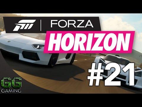 Forza Horizon Walkthrough Part 21 - PR Stunts Speed Stunt!