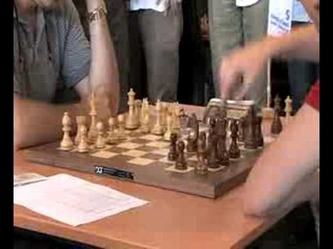 Euro Chess 2008 - Opening University of Twente Young Masters